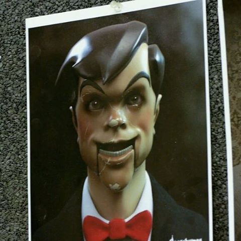 Slappy Goosebumps Movie Concept Art