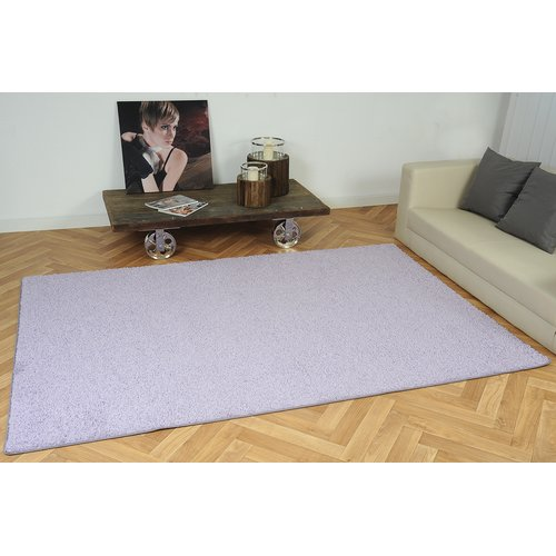 17 Stories Schwartz Light Purple Shag Rug Blue Shag Rug Purple Shag Rug Dark Blue Rug