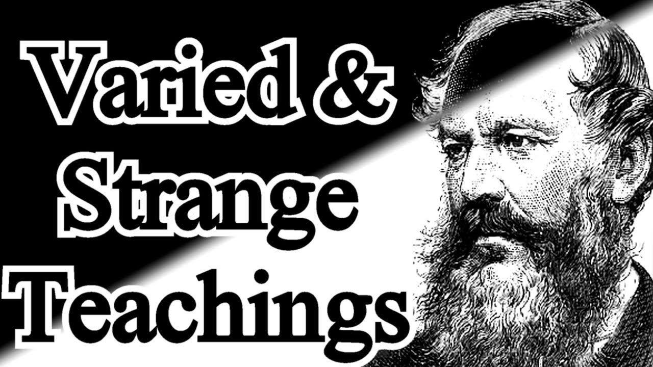 Divers and Strange Doctrines J. C. Ryle Teachings, New