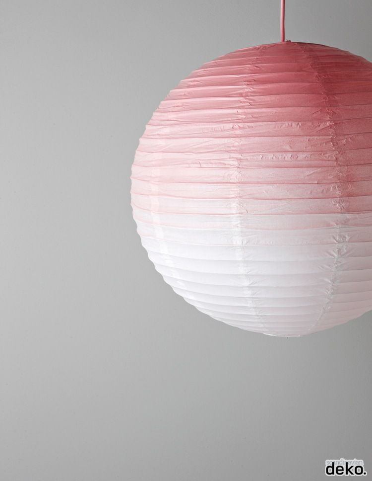 Buddhistische Papier Lampe Lampion Zimmer. DIY: GRADIENT DYED LAMPSHADE |  DIYu0027s U0026 Ideas Lamps,etc... |