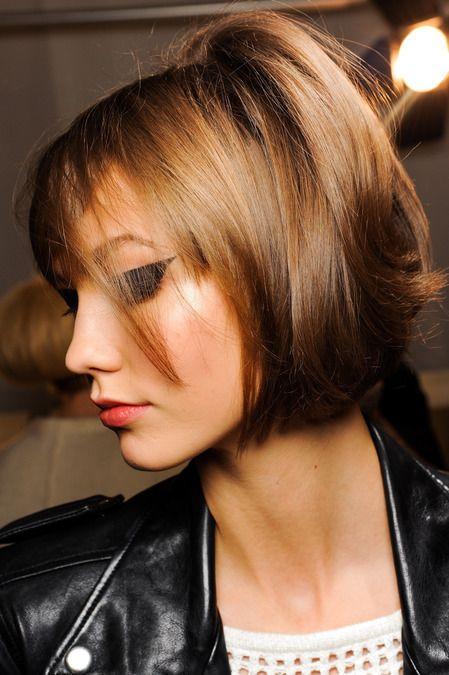 Theodorasdaily Make Up Trends Fall 2013 Winter 2014 Trendy Short Hair Styles Trendy Short Haircuts Hair Styles 2014