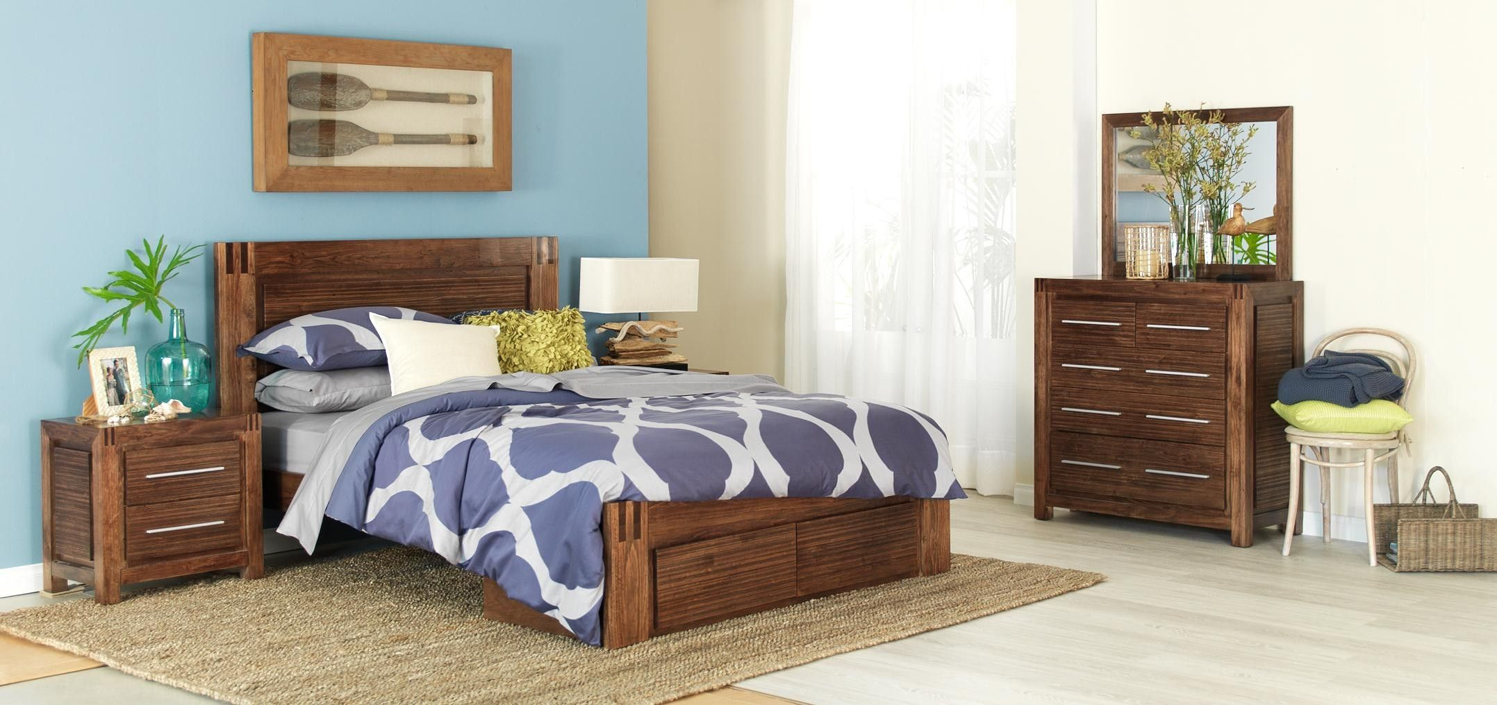 Forty Winks Mirage Modern Wood Grain Bedroom Furniture