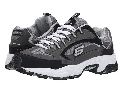 484a6fc32452 SKECHERS Stamina Cutback Charcoal Black - Zappos.com Free Shipping BOTH  Ways Shoes Men