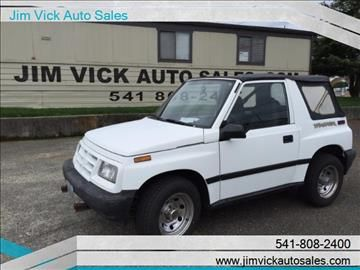 1997 Geo Tracker For Sale In North Bend Or Tracker Geo Sale