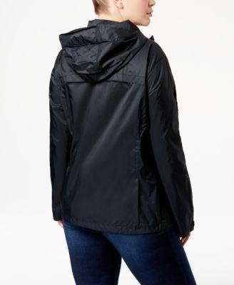 22125278699 Columbia Plus Size SwitchBack Ii Packable Rain Jacket - Purple 1X ...