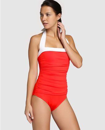 c316f59eb2e1 Bañador de mujer Lauren Swimwear con efecto adelgazante | Bañadores ...