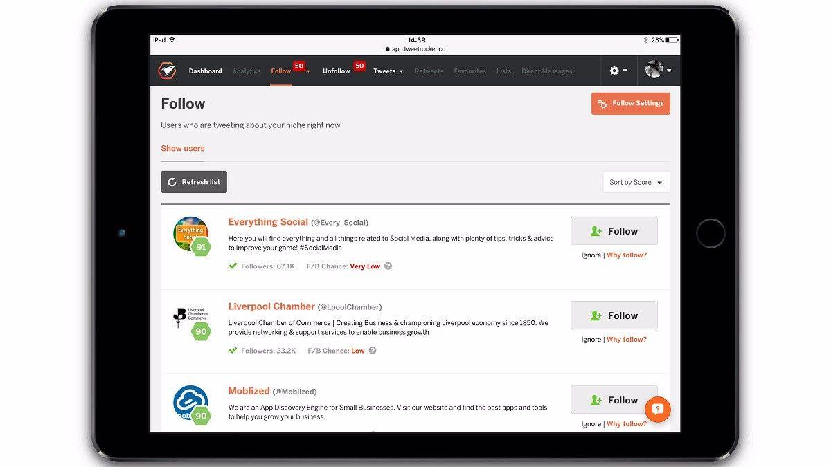 Tweet Rocket soll das ultimative Tool zur Verwaltung eures Twitter-Auftritts sein. Wir verraten euch, was das per Crowdfunding finanzierte Werkzeug alles kann.