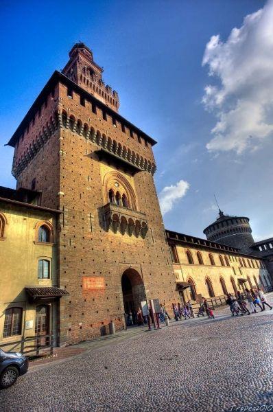 Castello Sforzesco Di Milano, torre del Filarete