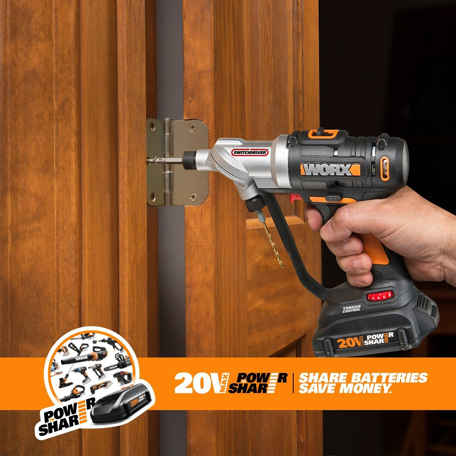 Worx 20v Switchdriver 2 In 1 Cordless Drill And Driver Tool Check It Out Now Cordless Drill Drill Cordless