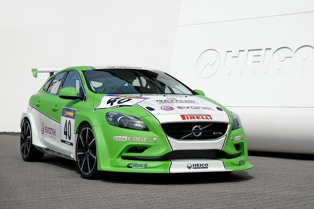 Heico Sportiv Previews V40 Tuning Program and Bio-Diesel Racer - Heico Sportiv has also prepared a new #Volvo V40 racer, with which it will compete in next year's 24 Hour Endurance Race at the Nürburgring.