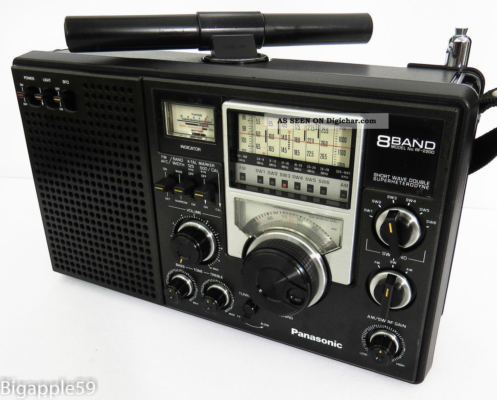 Shortwave Radio | ... Dx Hound & Shortwave Fm Radio Receiver Portable AM/FM Radios photo 3
