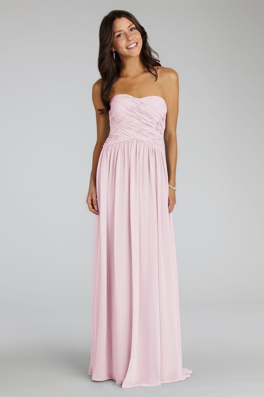 Audrey petal dream wedding 3 pinterest weddings audrey by donna morgan strapless chiffon bridesmaid dress ombrellifo Gallery