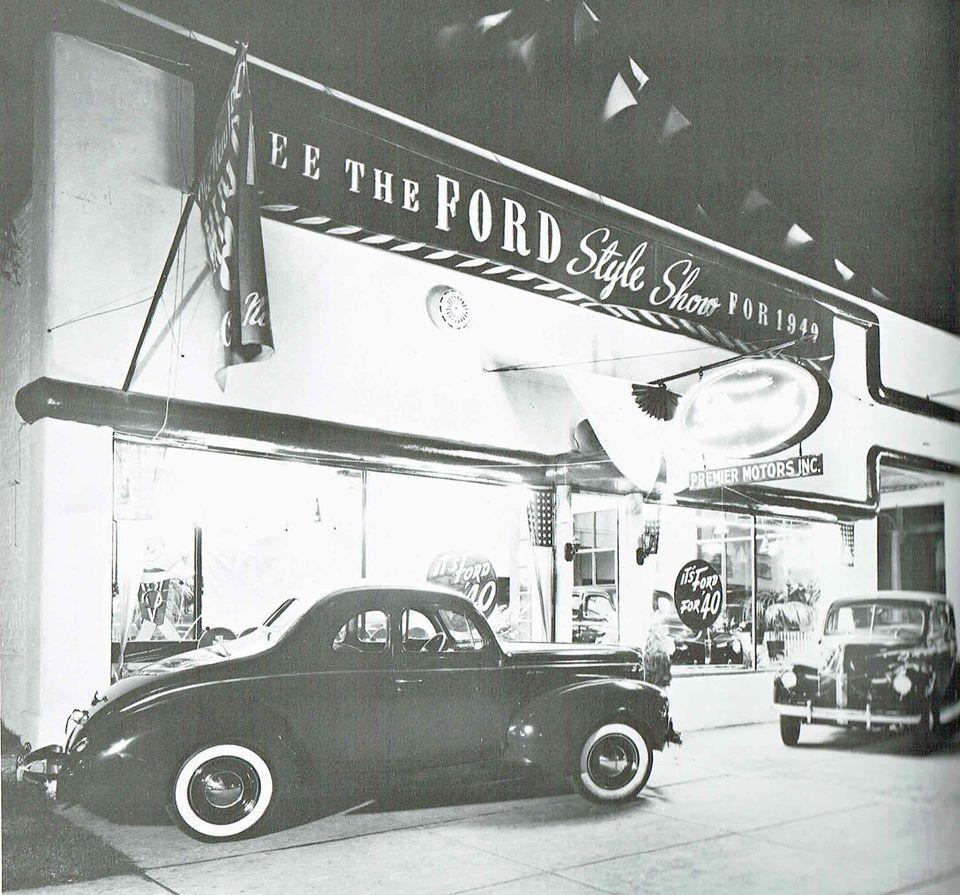 1940 premier motors inc ford dealership cool old cars
