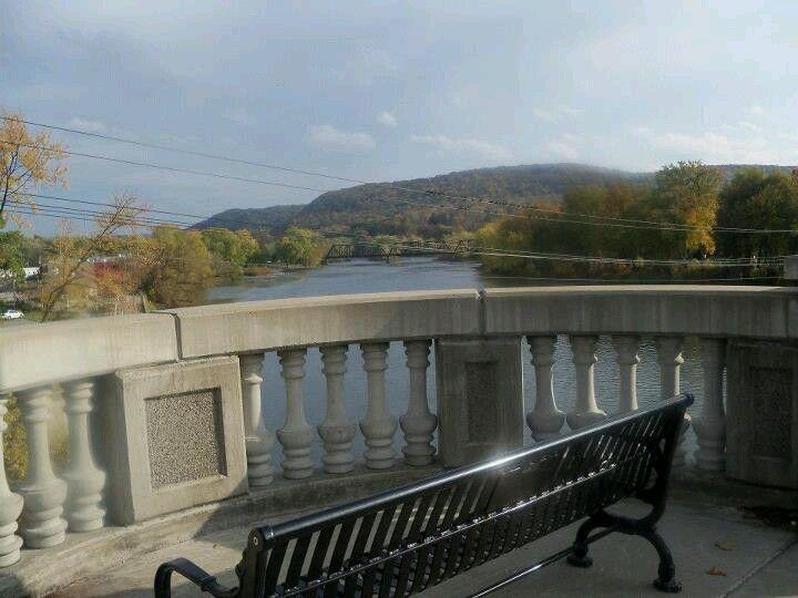 Hickory Street Bridge Warren Pa Outdoor Decor Outdoor Hometown