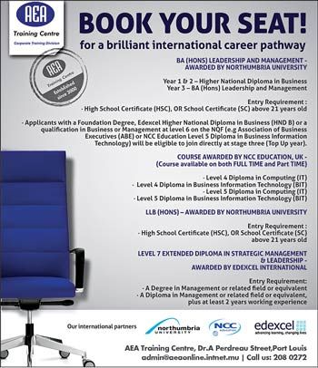 Aea Training Centre Book Your Seat For A Brilliant International