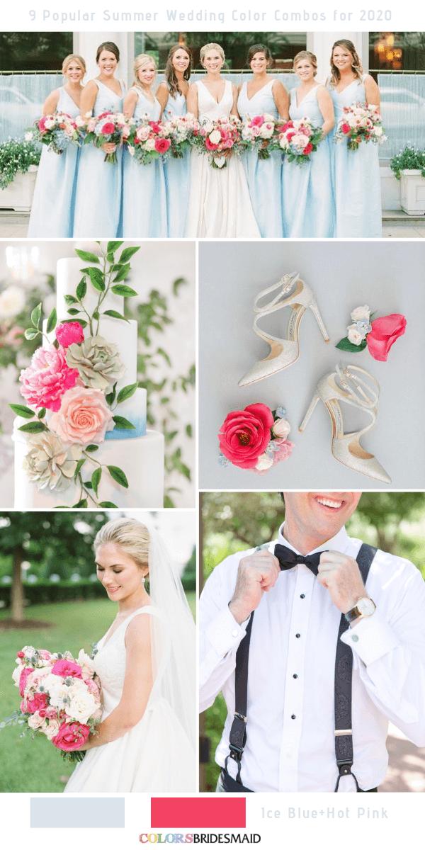 c89641860d 9 Popular Summer Wedding Color Combos for 2020 | Summer Wedding ...