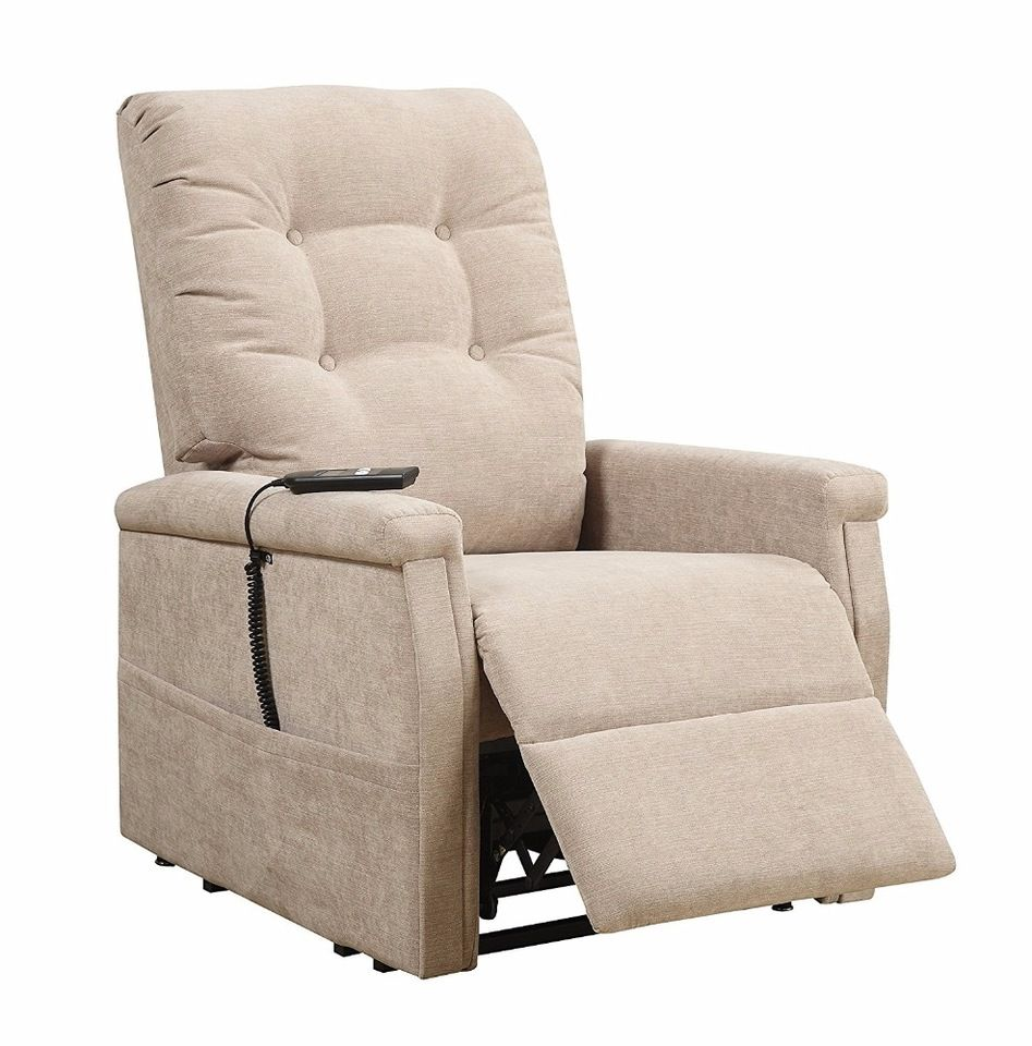 Indoor lift up leisure fabric recliner chair for old people ...
