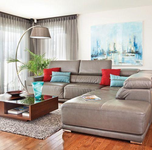 salon lumineux chaleureux et actuel d coration int rieure salon salons lumineux et decoration. Black Bedroom Furniture Sets. Home Design Ideas