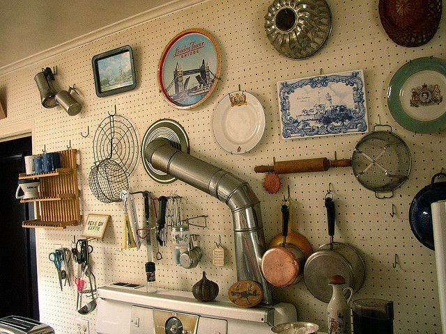 Tool shed kitchen