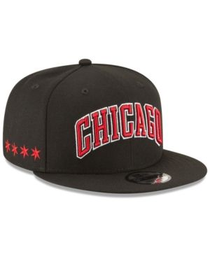 091d8eab413 New Era Chicago Bulls Statement Jersey Hook 9FIFTY Snapback Cap - Black  Adjustable