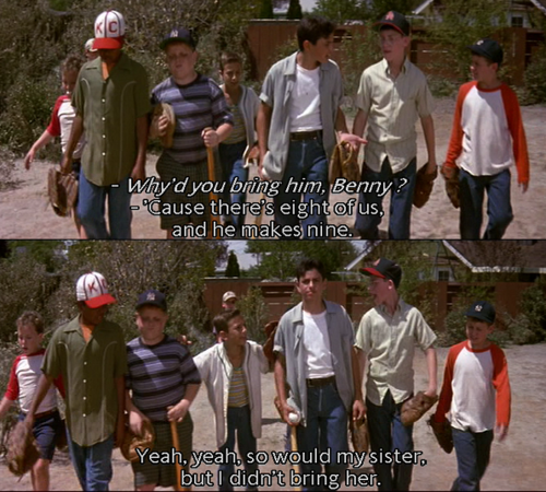 The Sandlot    greatest movie ever according to my kids