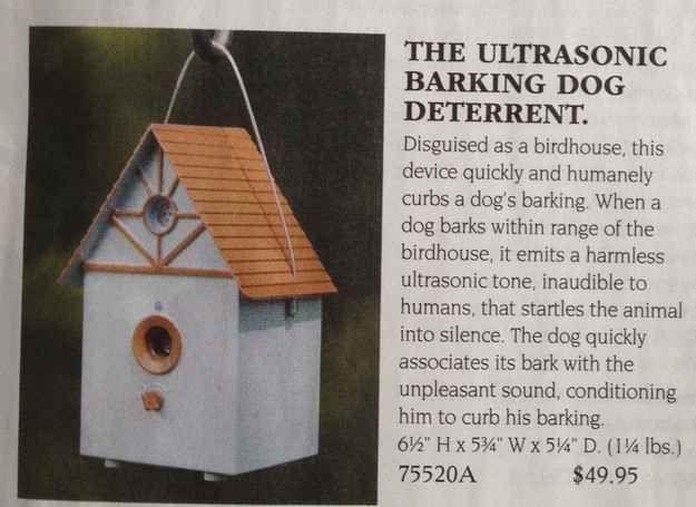 The Ultrasonic Barking Dog Deterrent
