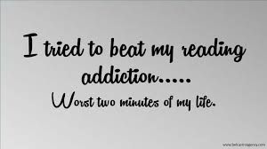 Books:  It's not an addiction I want to give up