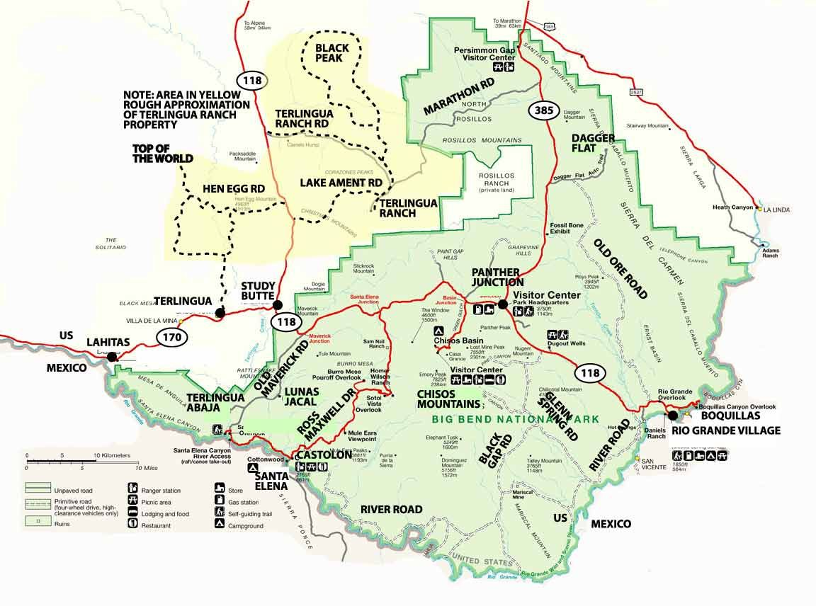 big bend national park map  yahoo search results. big bend national park map  yahoo search results  travel