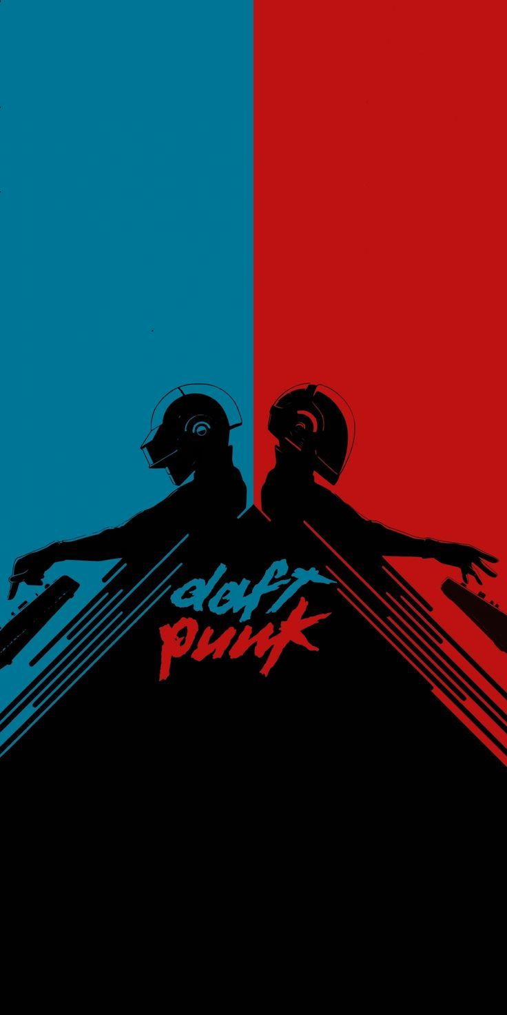dreaded wallpaper Daft Punk, musician, minimal, art, 1080 ...