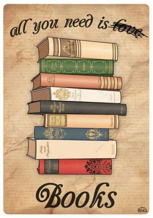 All you need is ... not love! Books!
