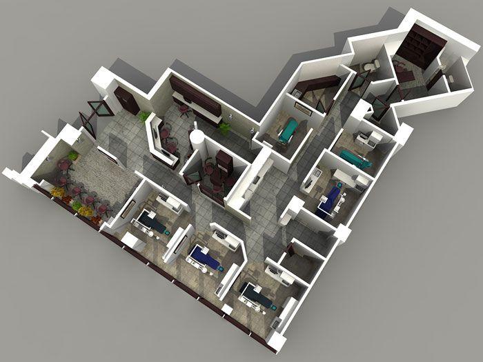 big apartment Architecte, Design