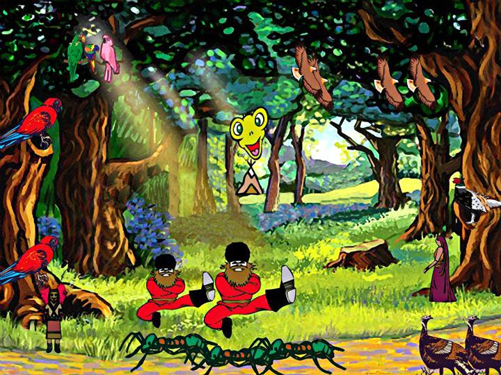 Peace Forest.jpg 720×540 pixels by Ringo Starr