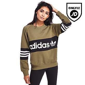 adidas Originals Street Crew Sweatshirt | Dameskleding ...