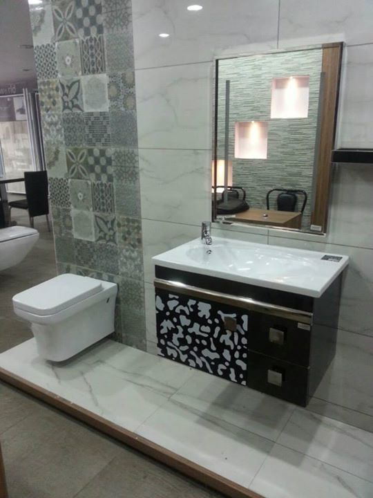 Kajaria Tiles Tile Showroom Tile Bathroom Bathrooms Remodel