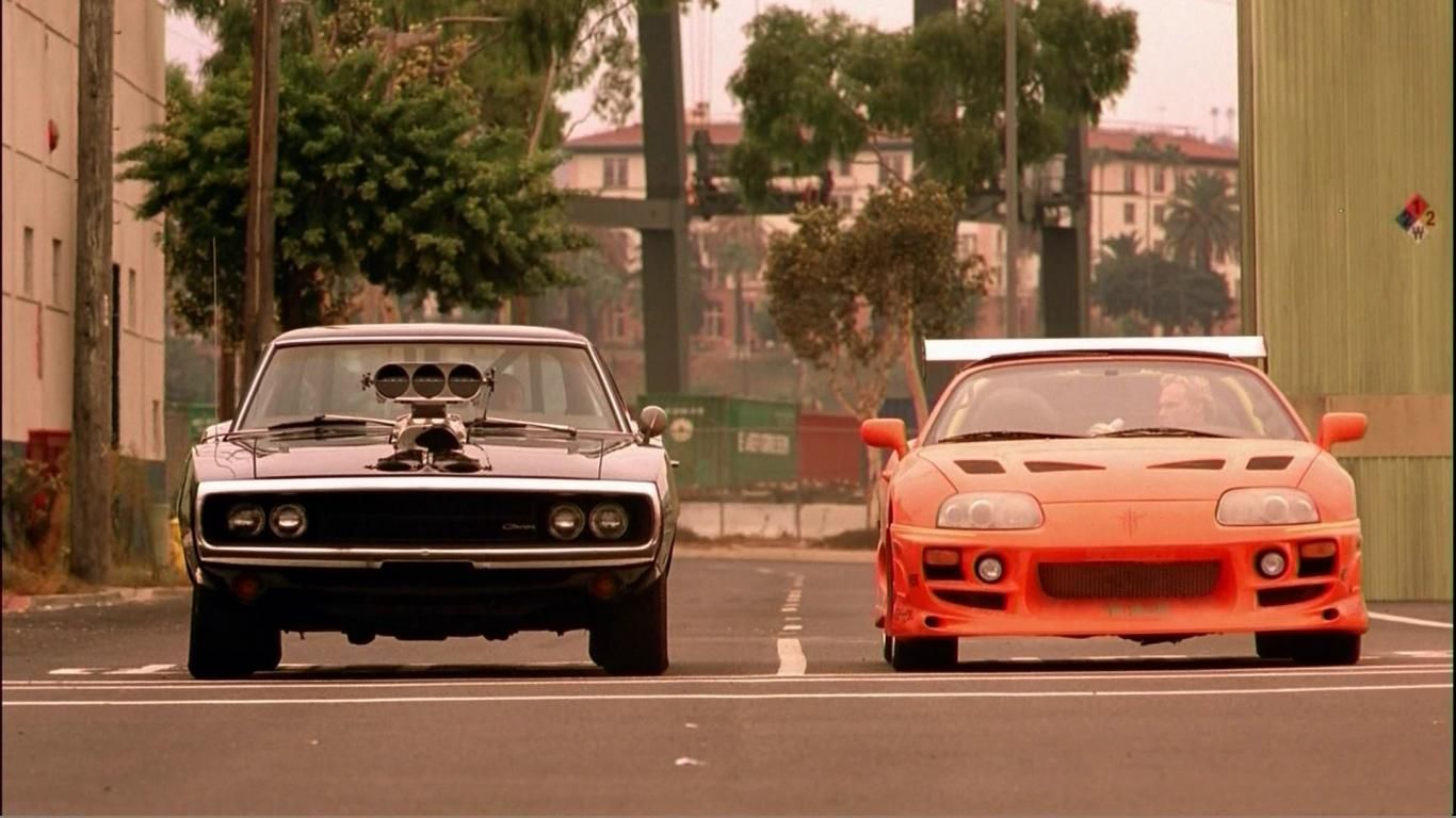 Fast Cars Toyota Supra Dodge Charger The And Furious Car Wallpaper Carros Carros E Caminhoes Carros De Cinema
