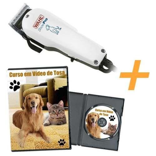 caca91c68 Máquina Para Tosa Wahl- Showpro Dog Clipper + Curso Em Vídeo - R$ 288,90