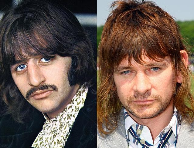 Ringo Starr Richard Starkey And His Son With Maureen Cox Starkey