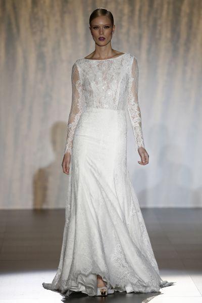 Hinreißende Langarm-Brautkleider 2016: Perfekt für eine stilvolle Herbsthochzeit! Image: 22