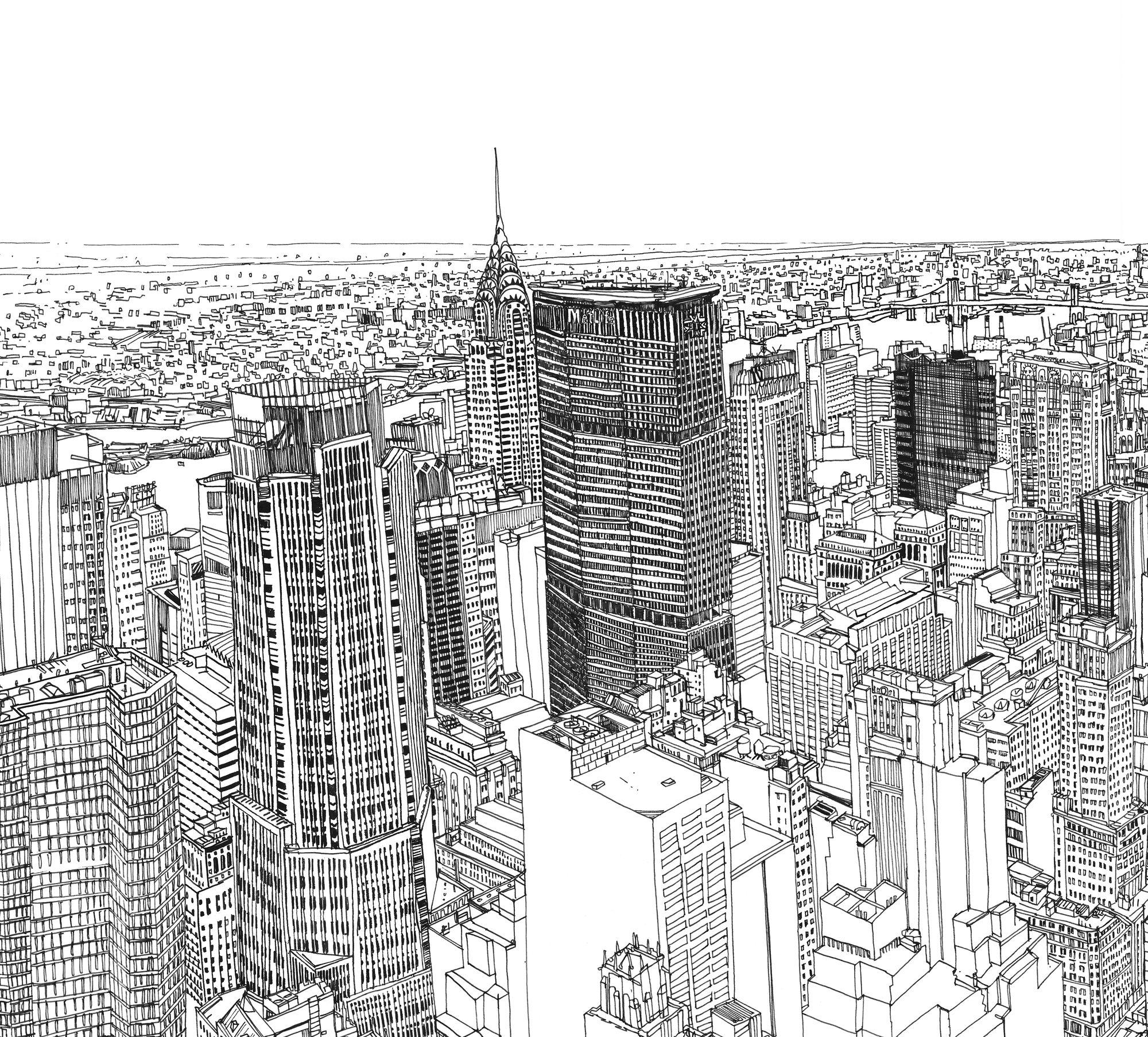 Galería - Video: dibujo que hace renacer a Nueva York por Patrick Vale - 3