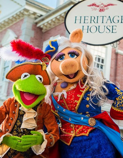 The Muppets show at The Magic Kingdom