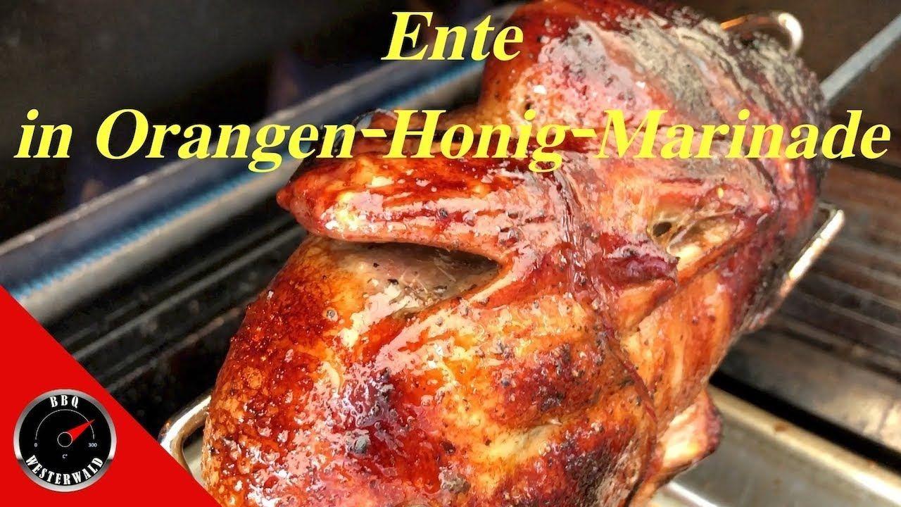 Chicken Gasgrill : Bbq ente in orangen honig marinade vom broil king gasgrill