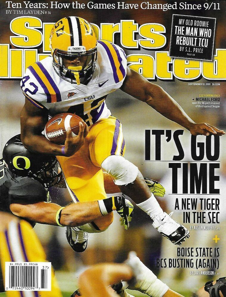 Sports Illustrated Magazine College Football BCS The