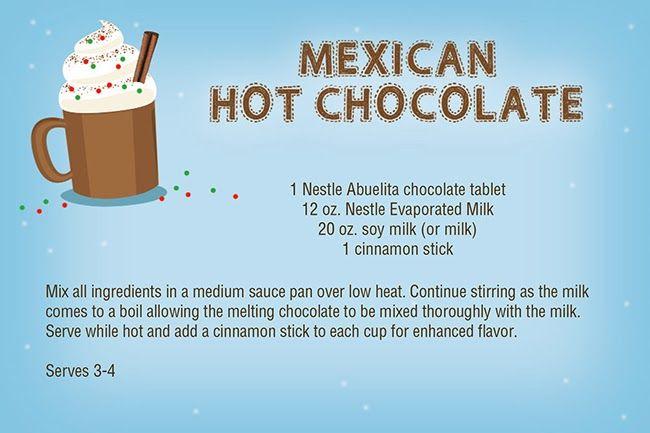 Ents 1 Nestle Abuelita Chocolate Tablet 12 Oz Nestle Carnation Evaporated Milk 20 Oz Hot Chocolate Recipes Mexican Hot Chocolate Recipe Mexican Hot Chocolate