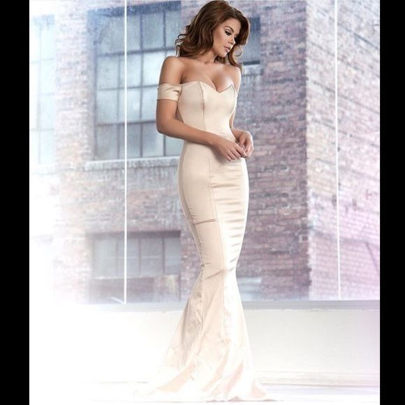 Reserved glamorous classy & evening gown cream | My Posh Picks ...