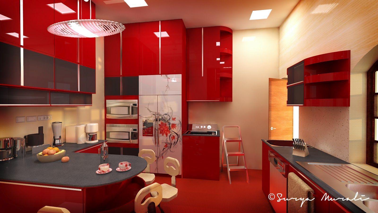 Traditional Kerala Style Kitchen Interior Designs Valoblogi Com