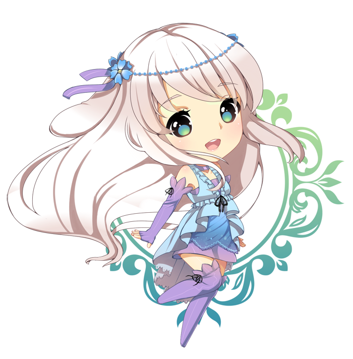 Chibi prize for Thanks for contributing with some art in
