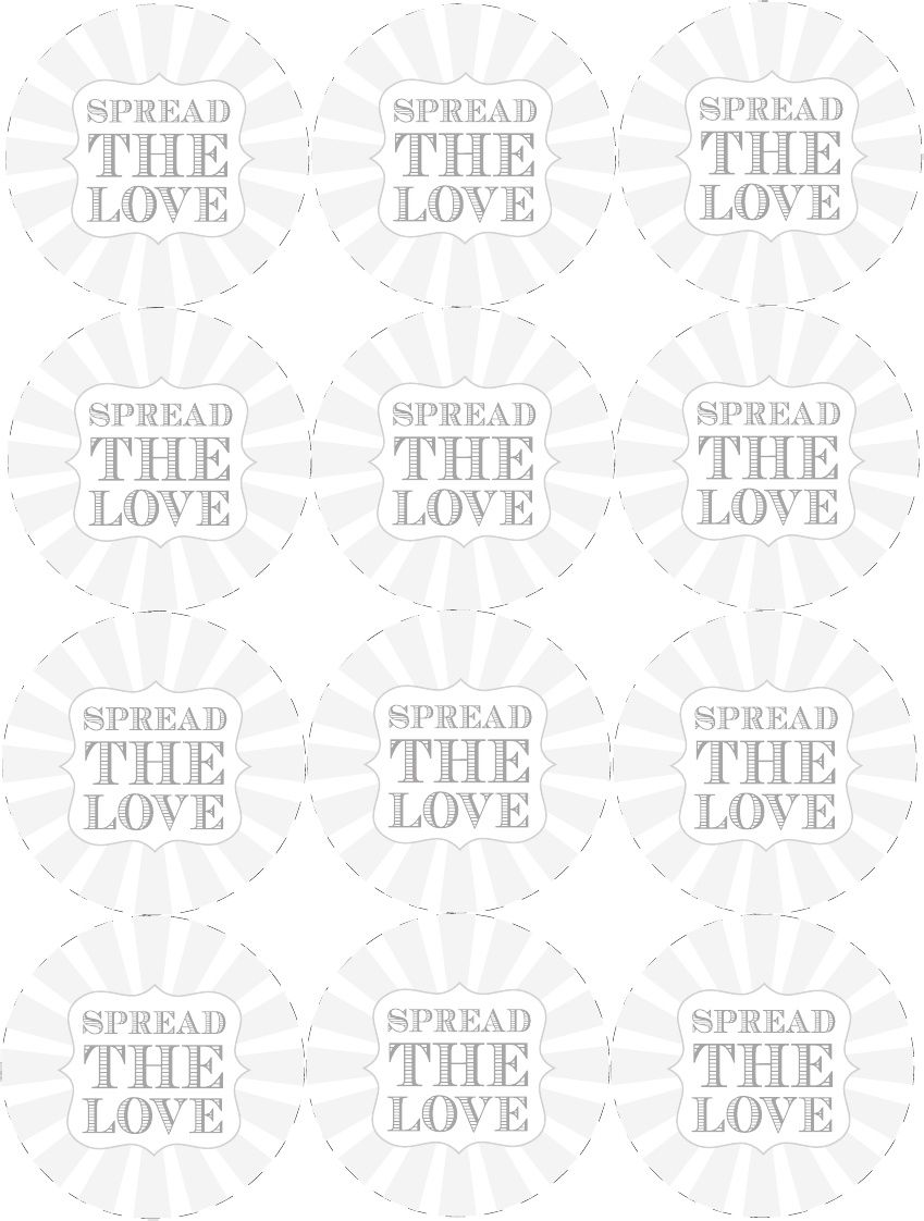 Spread the Love Free Printable Canning Labels | Scribd | Getting ...