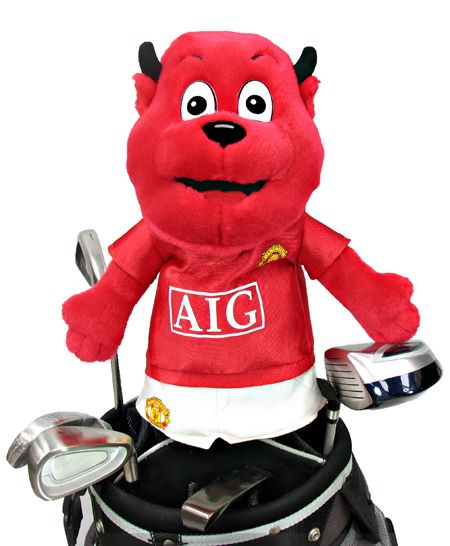67bdf30e9f Man United Mascot Golf Headcover