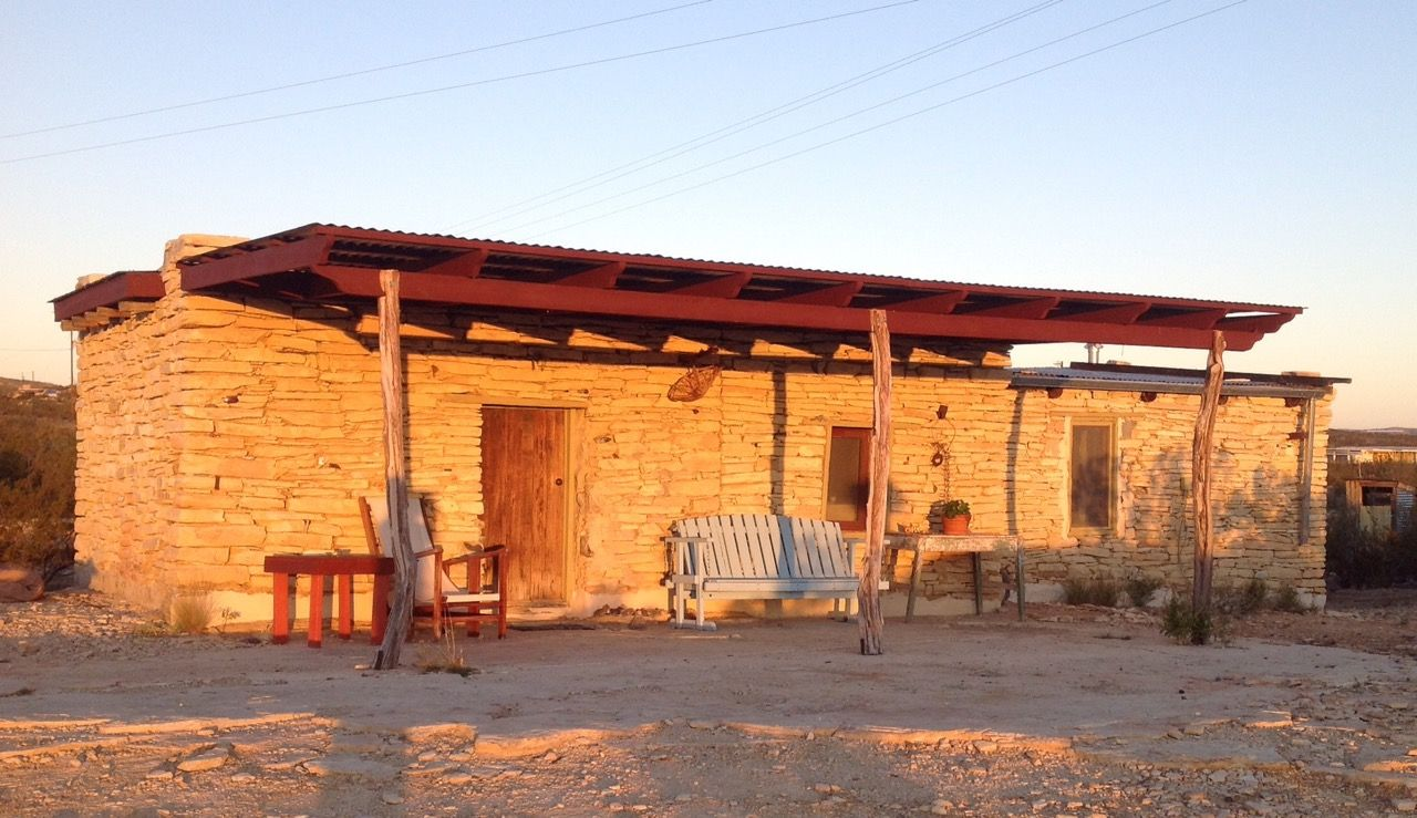 Terlingua Ghosttown Ruin Boystown Cabins For In Texas United States