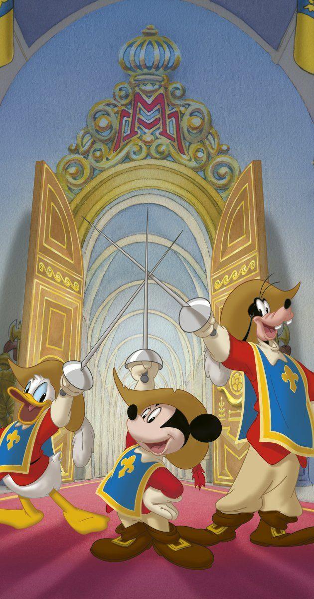 Mickey Donald Dingo Les Trois Mousquetaires : mickey, donald, dingo, trois, mousquetaires, Mickey,, Donald,, Goofy:, Three, Musketeers, (Video, 2004), Disney, Figures,, Wallpaper,, Goofy